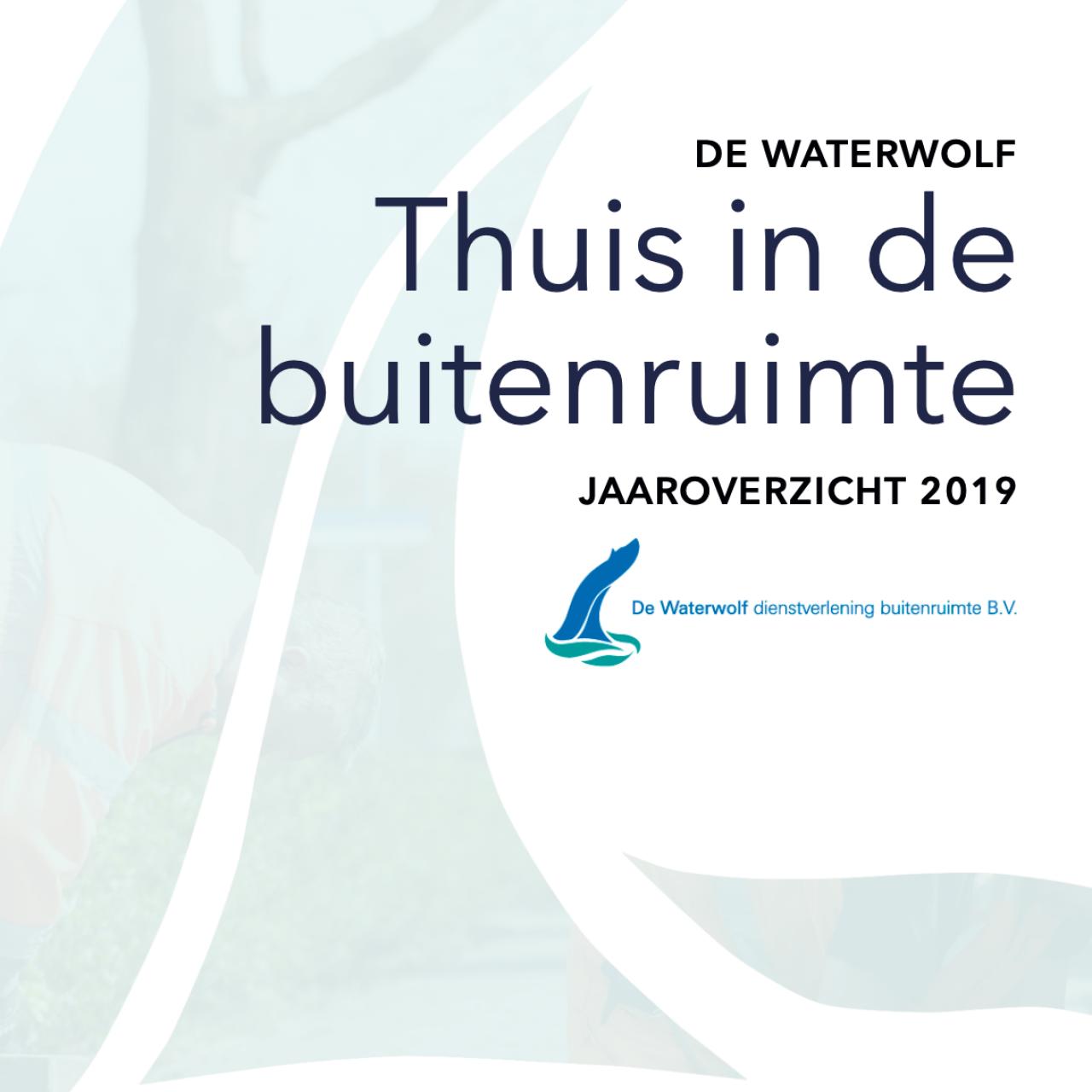 Jaarverslag 2019 - De Waterwolf - Voorkant